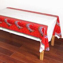 Table-Cloth Ramadan Home-Decoration Plastic Place Party 108x180cm Mubarak Eid for Moslem