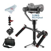 Ручной карданный 3-осевой стабилизатор MOZA Air для DSLR и беззеркальных камер Sony A7, Panasoni GH, Canon с двойной ручкой & пультом ДУ
