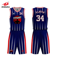 Customized Blank Basketball Shirt Jersey Mens Sports Suits Fully Sublimation Camiseta Baloncesto Breathable Basketball Uniform цены
