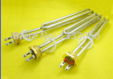 Free Shipping  AC 220V 4KW Water Boiler Heating Element U Type Tubular Bundle Heater legrand celiane rj tv 68239