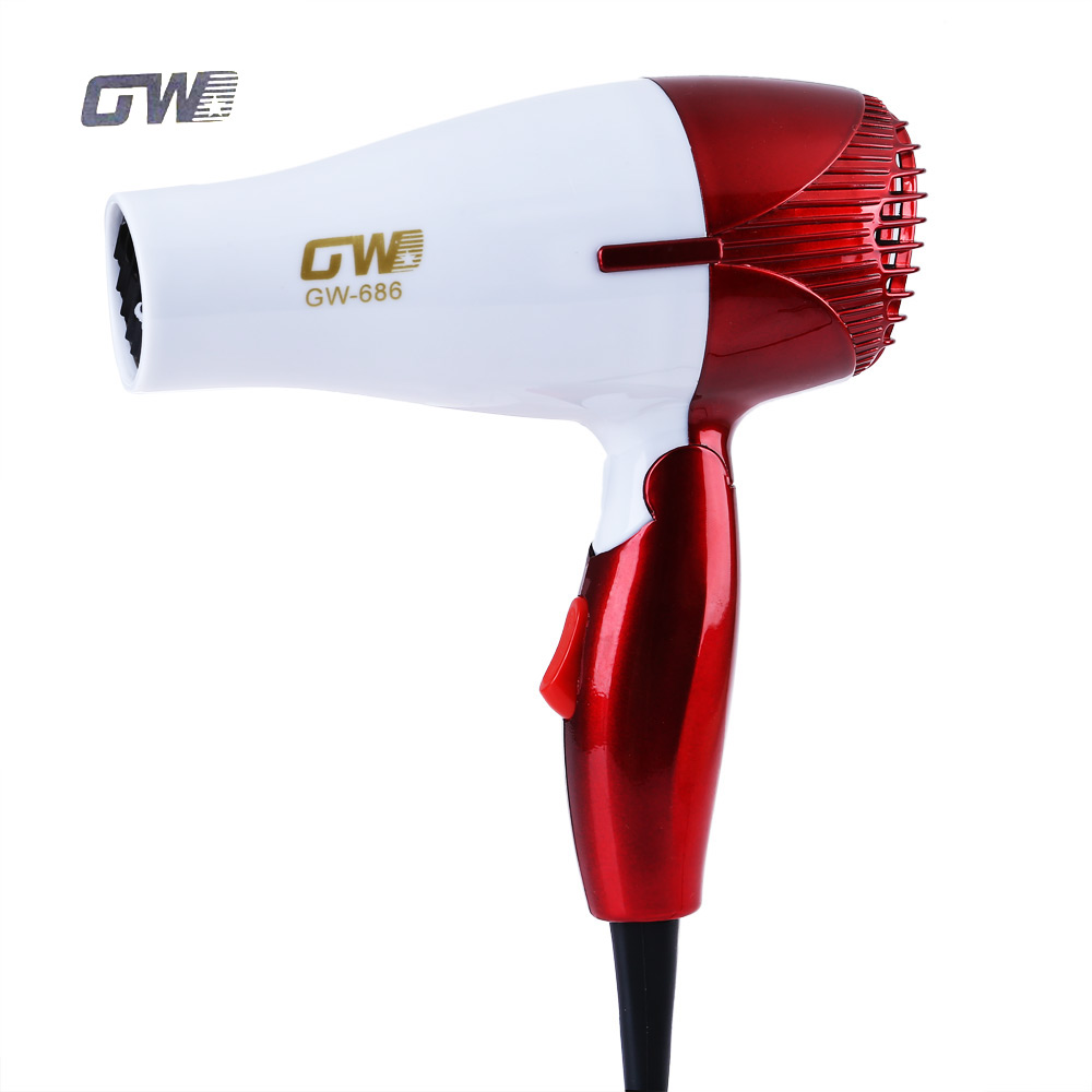 GUOWEI Mini Foldable Portable Electric Ceramic Hair Dryers Traveller Compact Blower Dryer Convenient Travel Home Styling Tools часы casio gr 8900a 1e