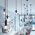 Nordic Anhänger Lichter Globus Lampe Glas Ball Anhänger Lampe Lustre Suspension Küche Leuchte E27 Hause Beleuchtung
