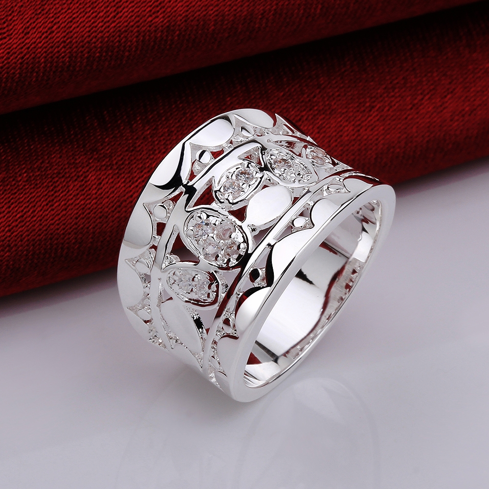 Aliexpress.com : Buy USTAR Retro Hollow out Wide Wedding Rings for ...