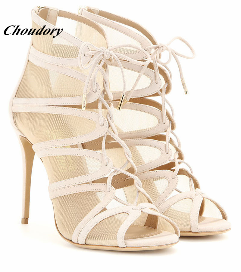 Gladiator Pic Choudory Mujer As Sandalias Sexy Zapatos Auténtico VUzGqSMp