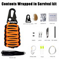 Outdoor travel multi - functional climbing mountain climbing first aid kits suit camping adventure emergency self - help surviva