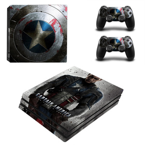 Image 5 - Spiderman Design Skin Sticker For Sony Playstation 4 Pro Console & 2PCS Controller Skin Decal For PS4 Pro Game Accessories
