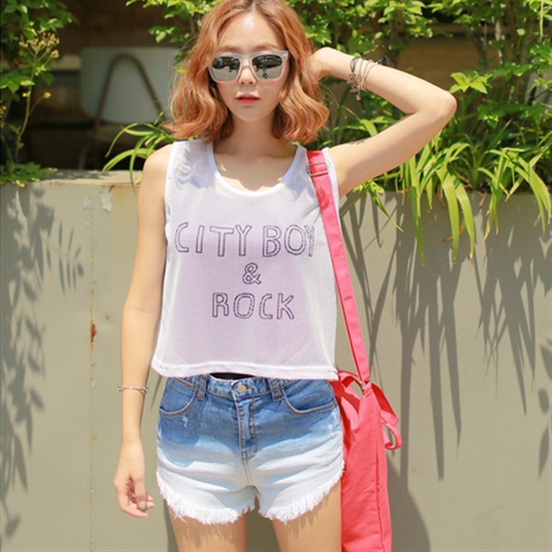 Hot Women Denim Shorts Gradient Color Jean Short Pants Fashion Female High Waist Casual Plus Size Jeans Shorts  2016