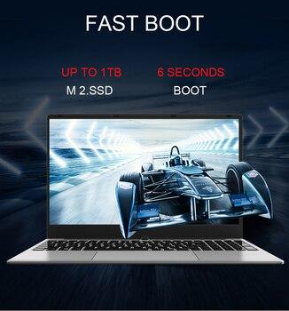Metal Shell 15.6 Inch Intel i7 4500U Laptop 8GB/16GB RAM 1080P IPS Notebook  Windows 10  Dual Band WiFi Full Layout Keyboard 1