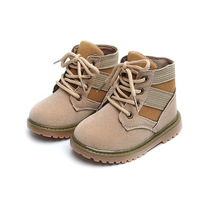 Fall Winter Children Shoes Pu Leather Martin Boots Kids Snow Boots Brand Girls Boys British Style