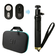 Yi 4K Bluetooth Remote Control For Xiaomi Extendable Monopod Selfie Stick Action Camera bag YI Xiaoyi Lite