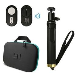 Yi 4K pilot zdalnego sterowania Bluetooth dla Xiaomi Yi wysuwany kijek do Selfie Action Camera torba dla Xiaomi YI Xiaoyi 4K Yi Lite