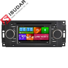 5 Inch Car DVD Player For Chrysler/300C/Dodge/RAM/Jeep/Commander/Compass/Wrangler/Grand Cherokee CANBUS GPS BT Radio Maps