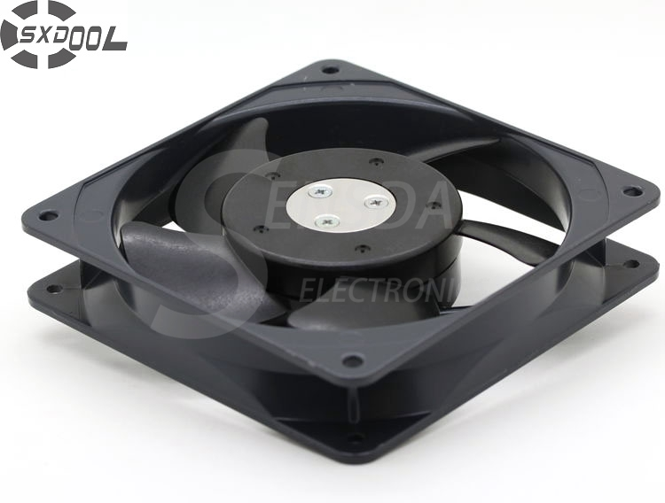 SXDOOL cooling fan 120mm MU1225S-41N 12025 12cm 120mm 220V AC  industrial axial blower cooler cooling fan 220v 120mm aa1252mb at adda 120 120 25mm 12025 12cm ac fan axial fan outlet