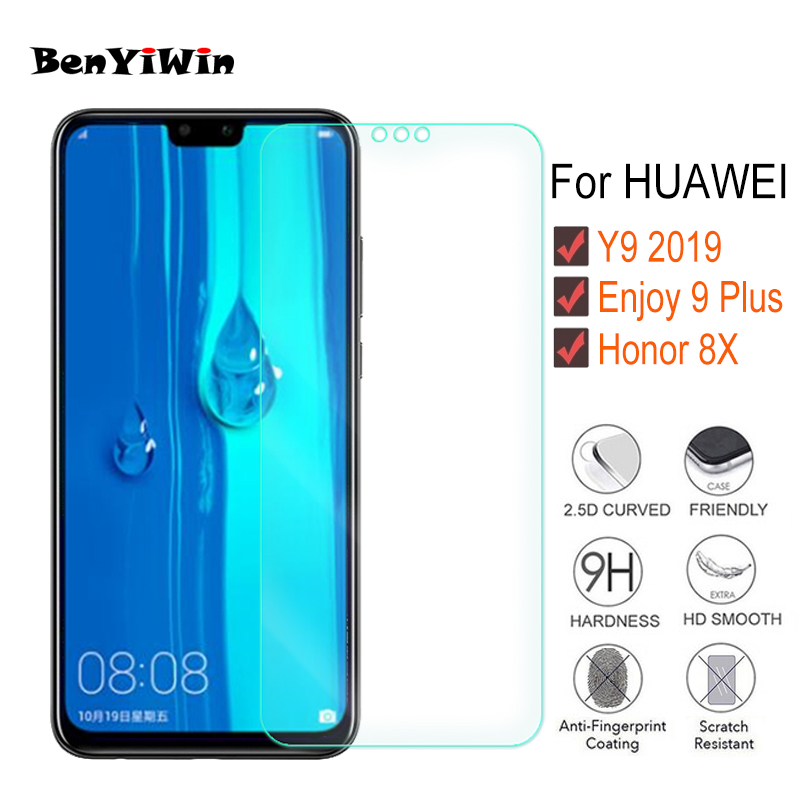 Tempered Glass Scratch Proof Protecting Movie For Huawei Y9 2019 Honor 8X Clear Toughened Display screen Protector For Get pleasure from 9 Plus Glass