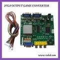 Видеоигры конвертер CGA, EGA YUV TO VGA ВЫХОД сигнала 2VGA GBS8220
