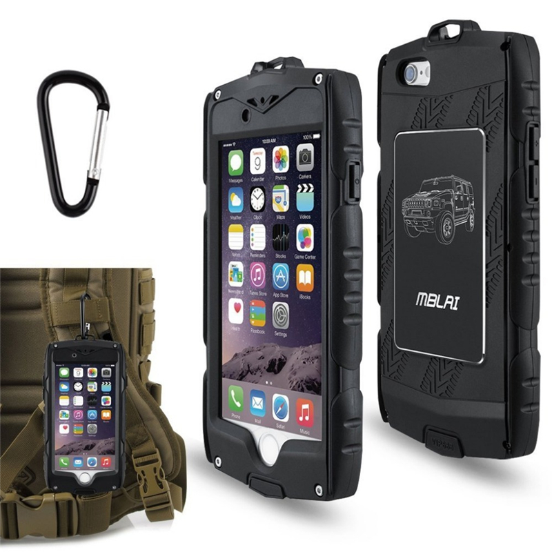 Tengocase Outdoor Heavy Duty Armor Case for iPhone 6 6s plus with Screen protective Film Shockproof case for iPhone 6s plus