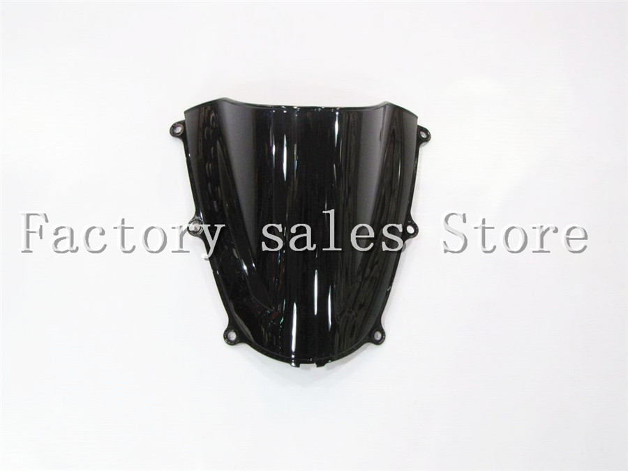 HotSale For Honda CBR 600 RR CBR600RR F5 2005 2006 black Windshield WindScreen Double Bubble CBR600 RR CBR 600RR цены