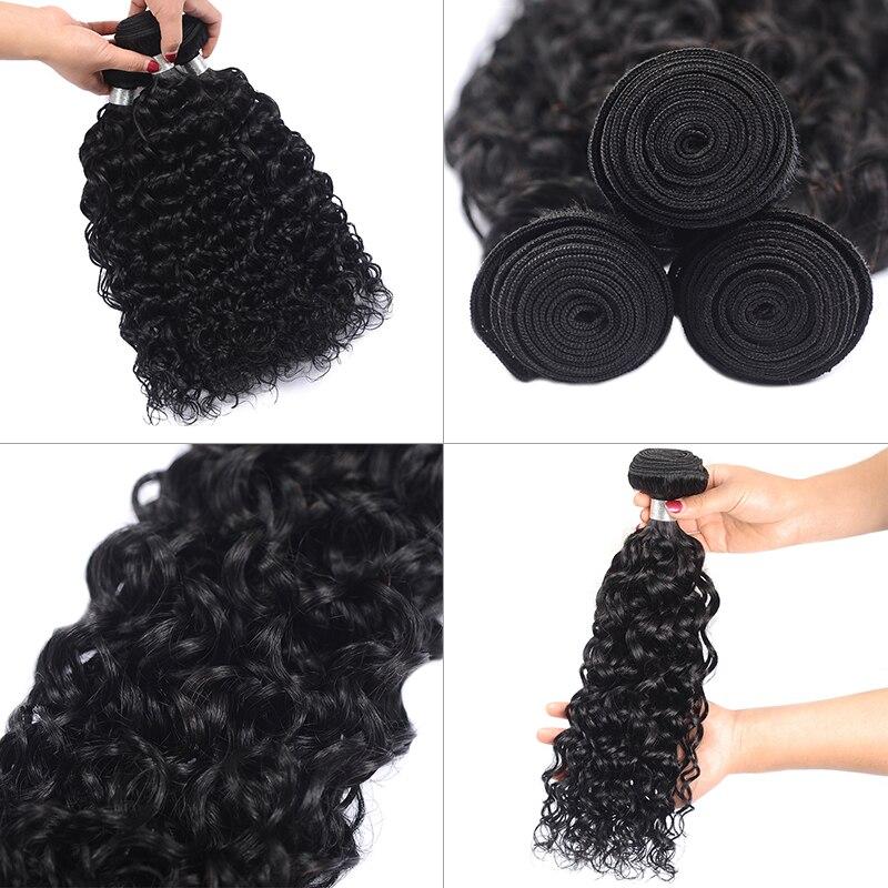 water wave bundles human hair extension