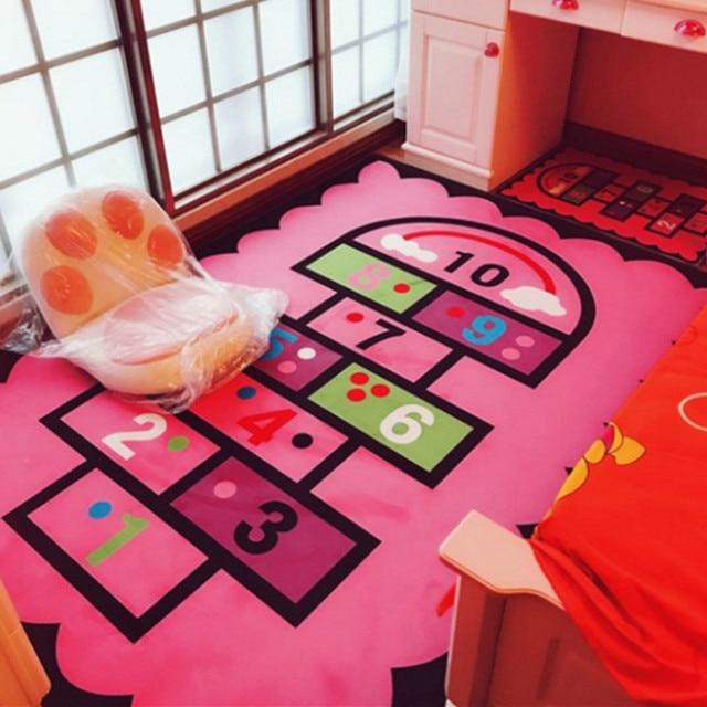 Lovely children\'s room cartoon carpet living room bedside bedside ...