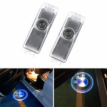 1X Car-styling For B-MW E53 X5 E39 X3 E46 Car Door Light Welcome Light LED Laser Projector Lamp For B-MW LOGO Decorative Lamp