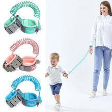 360 maluch dziecko szelki bezpieczeństwa smycz dziecko chroniący przed zgubieniem nadgarstek rozwijana smycz Band tanie tanio Wiskoza 10-12 miesięcy 13-18 miesięcy 19-24 miesięcy Stałe 18 kg