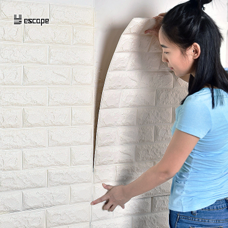 77*70CM DIY 3D Brick Home Decoration Wall Stickers Living