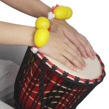 Ammoon пластиковые яичные шейкеры музыкальная игрушка Африканский барабан Djembe аккомпанемент высокое качество ударный инструмент
