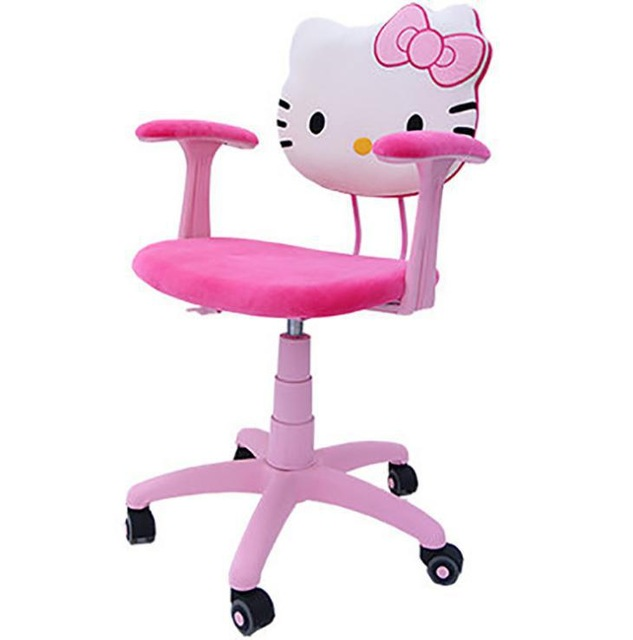 hello kitty desk chair x rocker gaming cables for ps4 office room decoration in living