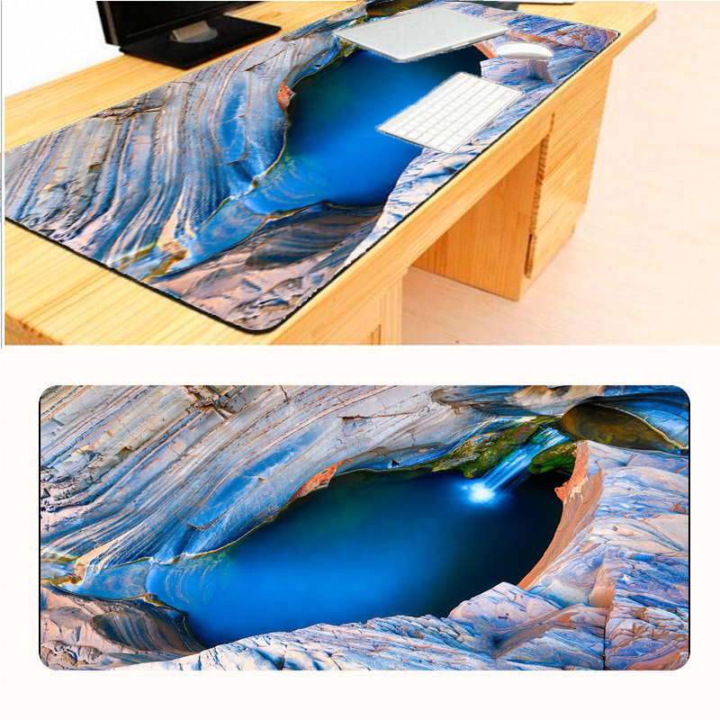 Mairuige Beautiful Scenery Big Size Speed Keyboard Mouse Pad Mat Computer Gaming Mousepad Gamer for Large Table