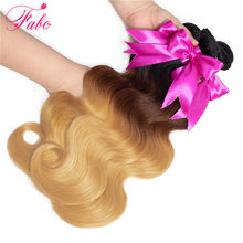 Fabc Hair brazilian hair weave bundles Remy body wave honey blonde bundles 1b/4/27 10-26 inch 4bundles deals(China)