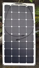 Solarparts 1PCS 100w Frosted Surface flexible solar panel solar module for RV Yacht Boat Camping Car