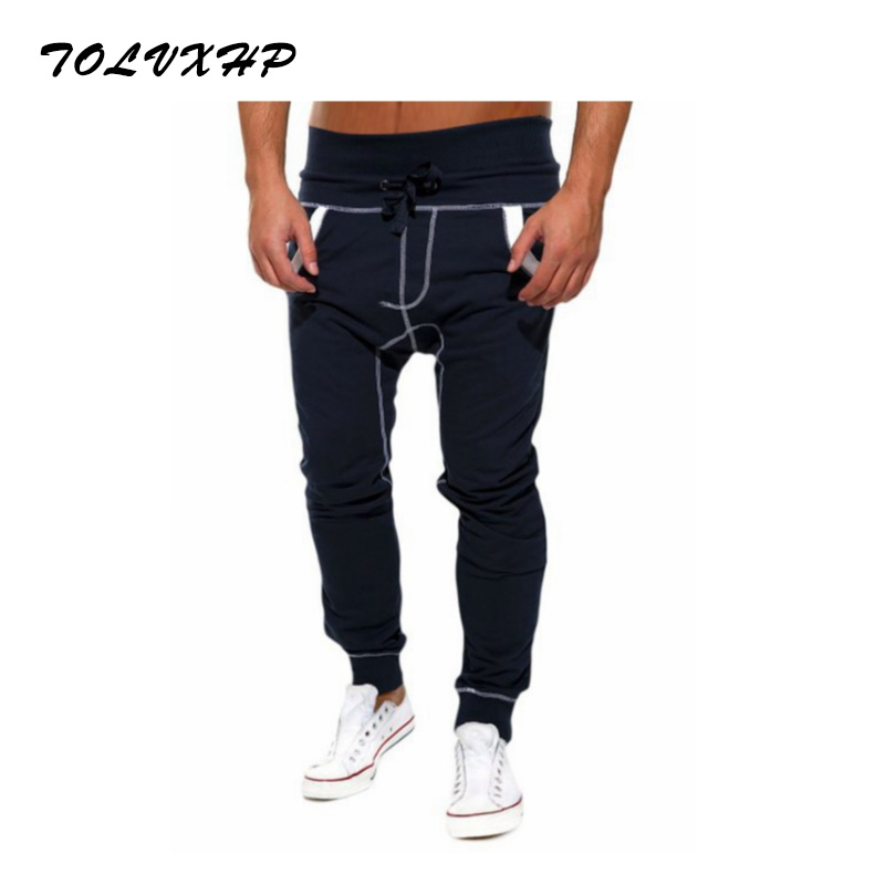 New Fashion 2018 Joggers Men Brand Personality Splicing Sweatpants Male Compression Pants Casual Tactical Pants Mens Calabasas