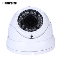 Hamrolte Varifocal 1080P AHD Camera 3MP 2.8 12mm Varifocal Lens 36pcs infrared leds Night Vision 2MP Home CCTV Camera