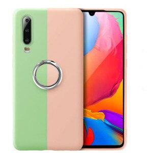 Image 3 - 충격 방지 전화 케이스 iphone 7 6 6 s 8 x plus coque iphone xs max xr 솔리드 컬러 울트라 씬 커버 용 기존 실리콘 커버