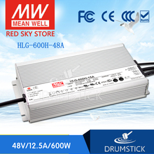 цена на Selling Hot! MEAN WELL original HLG-600H-48A 48V 12.5A meanwell HLG-600H 48V `600W Single Output LED Driver Power Supply A type