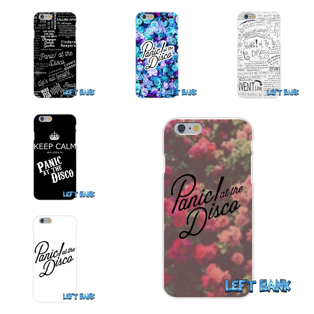 For iPhone X 4 4S 5 5S 5C SE 6 6S 7 8 Plus Panic At The Disco Soft Case Silicone