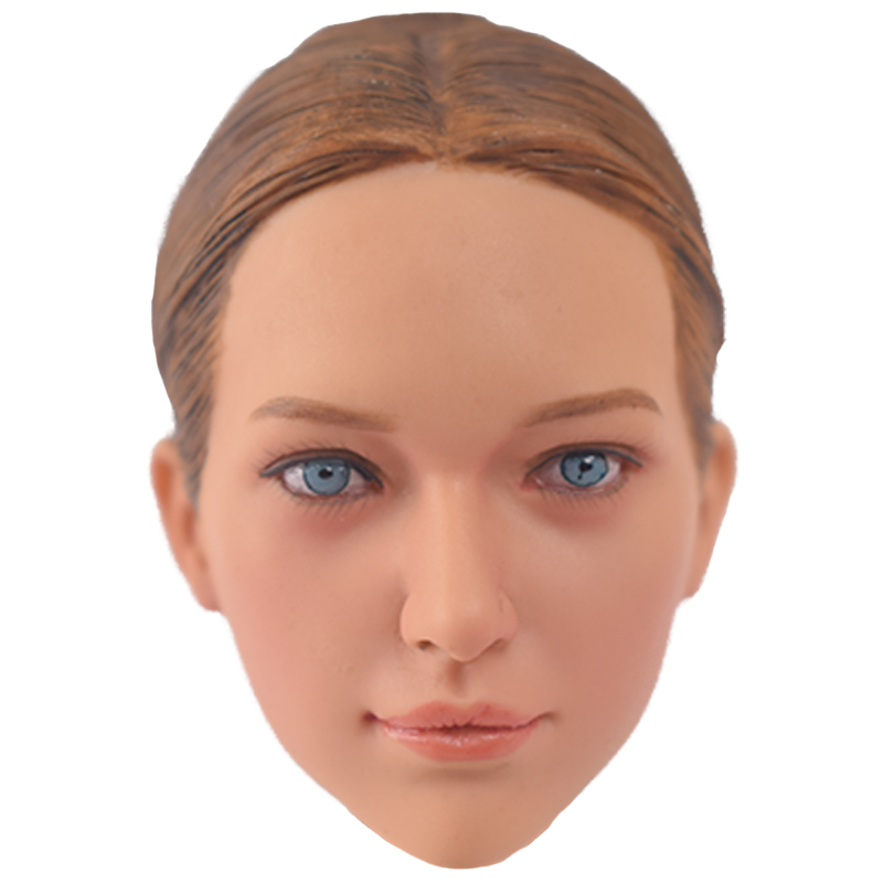 1/6 Scale Accessories Head Sculpt KUMIK 16-29 Hot Sideshow Toys TTL Enterbay Custom female girl Model Fit 12 Inch Ph HT Toys 1 6 head sculpt carving model kumik 16 18 hot sideshow toys ttl enterbay custom male man fit 12 ph action figure doll toy body