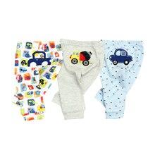 3 шт./лот, г., штаны для малышей весенне-осенние Хлопковые Штаны для младенцев Детские брюки для девочек с рисунком обезьяны, Одежда для новорожденных мальчиков и девочек от 0 до 24 лет
