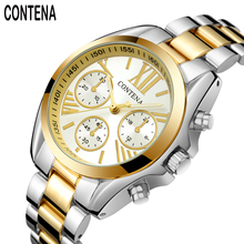 Freeshipping luxury brand Watch CONTENA quartz Digital women wristwatches  Casual Fashion watch relogio masculino