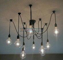 Simplestyle эдисон люстра кулон Lamp10 фары ( в комплекте лампочка и пульт дистанционного управления )