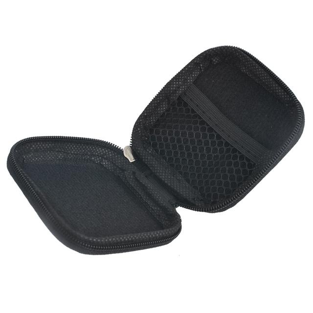 Hoomall torba na torby Case do słuchawek EVA słuchawki Case pojemnik na słuchawki earbuds pudełko torba etui Holder (bez słuchawek) tanie i dobre opinie z hoomall Pudełko na biżuterię Plastikowe 5-8 szt Ferrero Europie Błyszczący Drut na słuchawki drut elektryczny