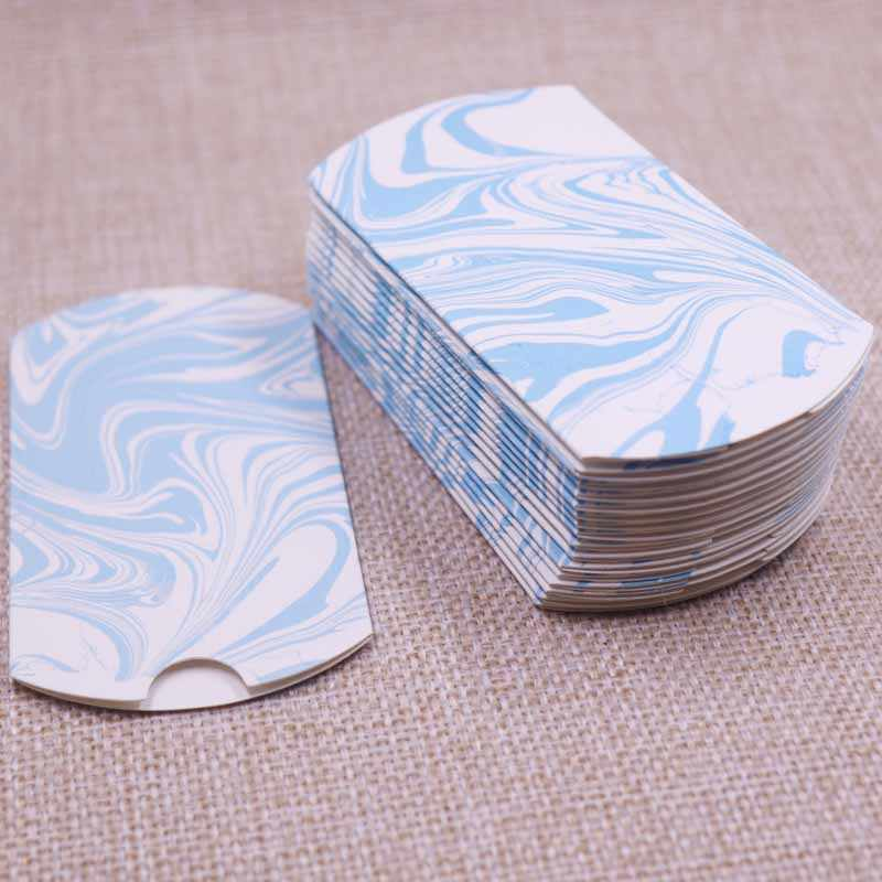 10pcs 2019 New DIY Packing Box Light Color Gift Box Wedding Ring Necklace Jewelry Paperboard Kreft Box 80x55x20mm Hot Sell Box