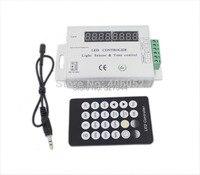 〜Dc24vマックス。144ワットledストリップライトセンサー&時間ledコントローラタイマーpwm信号、調整明るさ+リモート