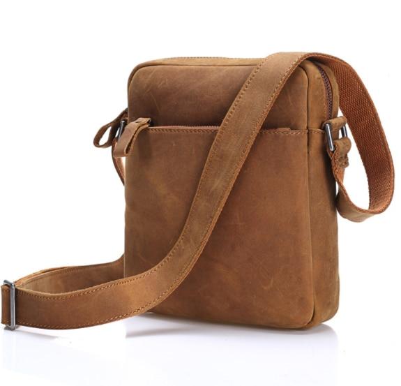 Men's Shoulder Bag Soft Genuine Leather handbag Men Messenger Bag man Casual Vertical Crossbody Messenger Bags male handbags lantom 1 2 4 9dbi rp sma wifi hp g300n 2 4g 9dbi rp sma antenna style 1