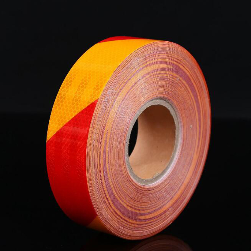 50mm X 5m Reflective Bicycle Stickers Adhesive Tape for Bike Safety White Red Yellow Blue Bike Stickers Bicycle Accessories in Reflective Material from Security Protection