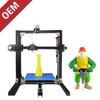 Free 1kg PLA Filament New Generation Inexpensive 3D Printer 110V 220V 50 60HZ 200w 1 75mm