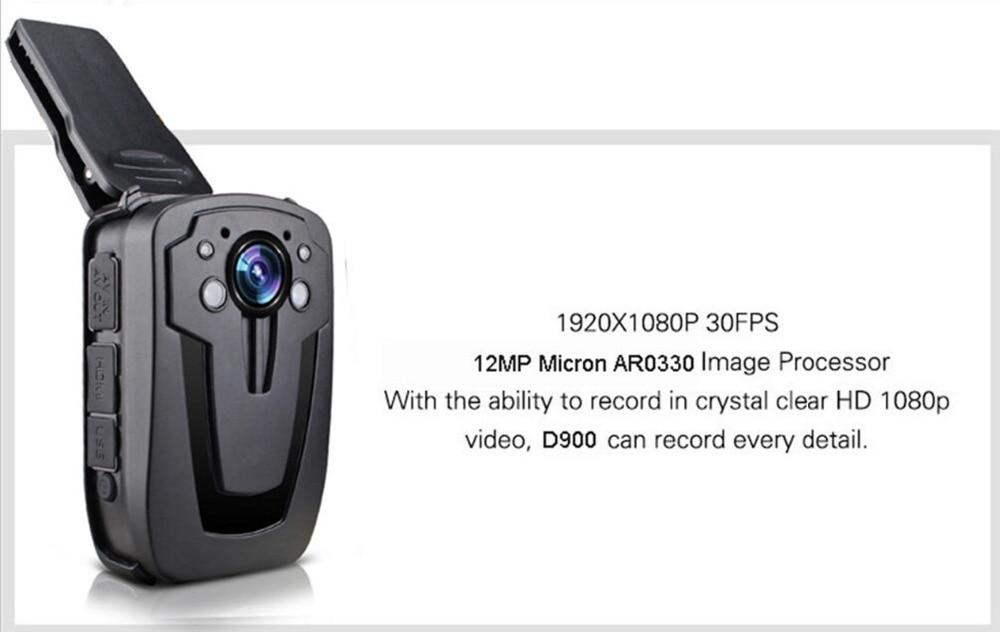 HD 1080P 16G Police Body Camera Lapel Worn Video Camera Recorder DVR IR Night Vision