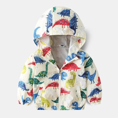Camouflage Dinosaur Children Coat Baby boy jacket  Autumn Kids Jacket Boys Outerwear Coats Boy Windbreaker Baby Clothes Clothing Lahore