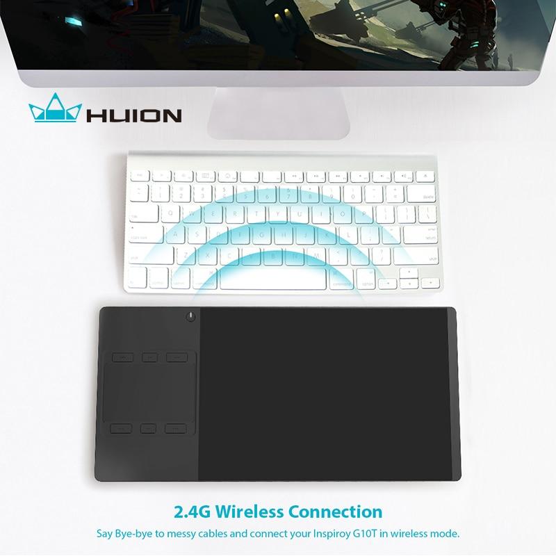 """""""Huion G10T"""" belaidis grafikos braižymo planšetinis kompiuteris - Kompiuterių periferiniai įrenginiai - Nuotrauka 5"""