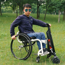 2019 High quality manual sports wheelchair electric front handbike